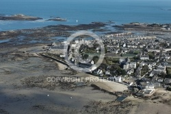 Photo aérienne de Roscoff ,Finistere