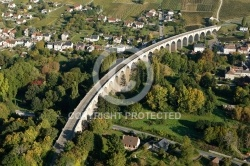 Photo aérienne Viaduc de Saint-satur 18