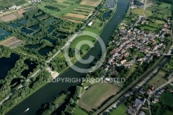 photo aerienne de  Perl, Allemagne