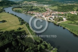 Photo aerienne de Rettel, Moselle 57