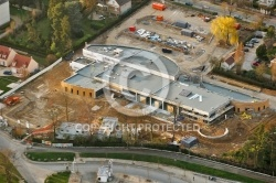 Piscine de Dourdan en construction 91410