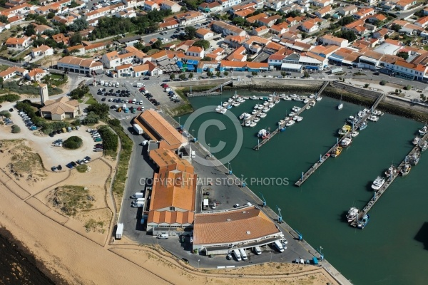 Port de la cotini re saint pierre d ol ron vue du ciel - Office du tourisme st pierre d oleron ...