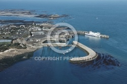 Port de Roscoff , transport maritime ,Finistere