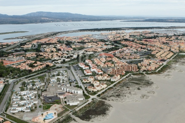 Vue a rienne de port leucate 11370 - Cinema port leucate 11370 ...